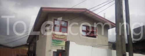 Office Space Commercial Property for rent  By Conoil Filling Station, Onigbongbo Maryland Lagos - 0