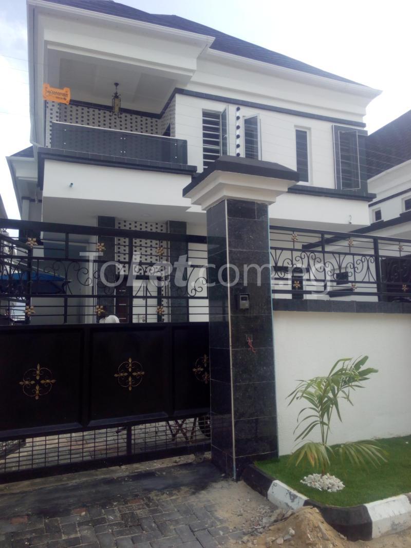 5 bedroom House for sale Behind Chevron Estate Lekki Lagos chevron Lekki Lagos - 1