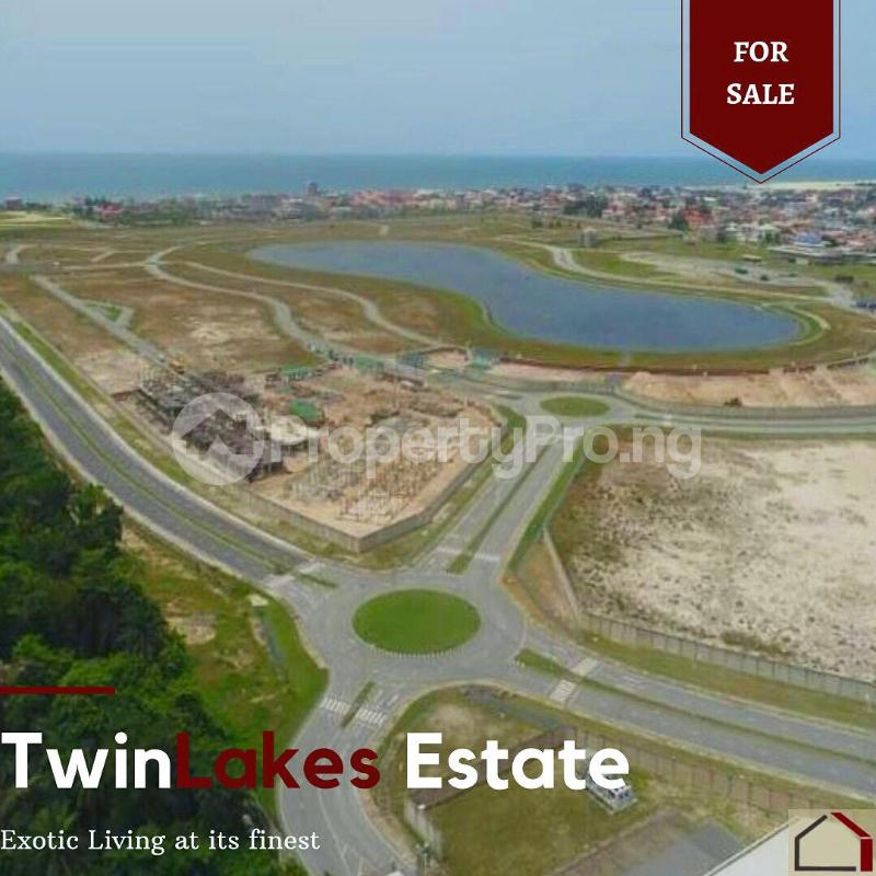 Land for sale Twin Lake Estate chevron Lekki Lagos - 1