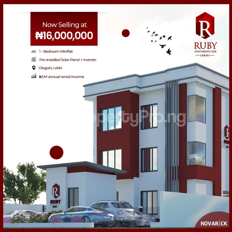 1 bedroom mini flat  Mini flat Flat / Apartment for sale Ologolo Lekki Lagos - 2