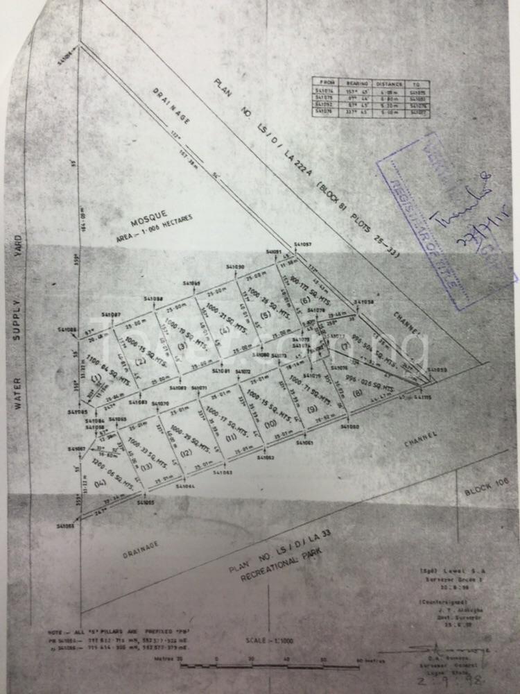 Land for sale Fola Daniels Close off Hakeem Dickson Street Lekki Phase 1 Lekki Lagos - 1