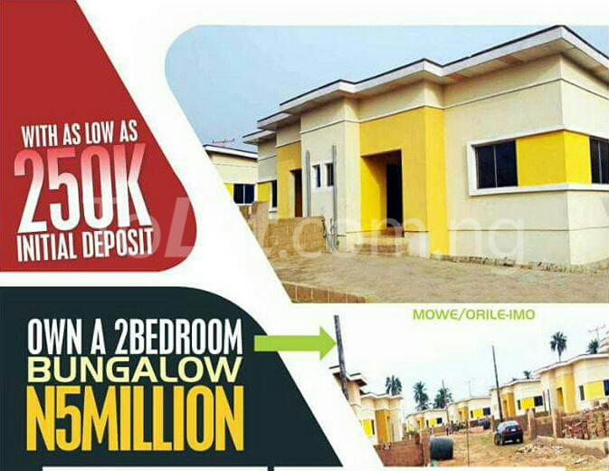 2 bedroom House for sale treasure island street Mowe Obafemi Owode Ogun - 2