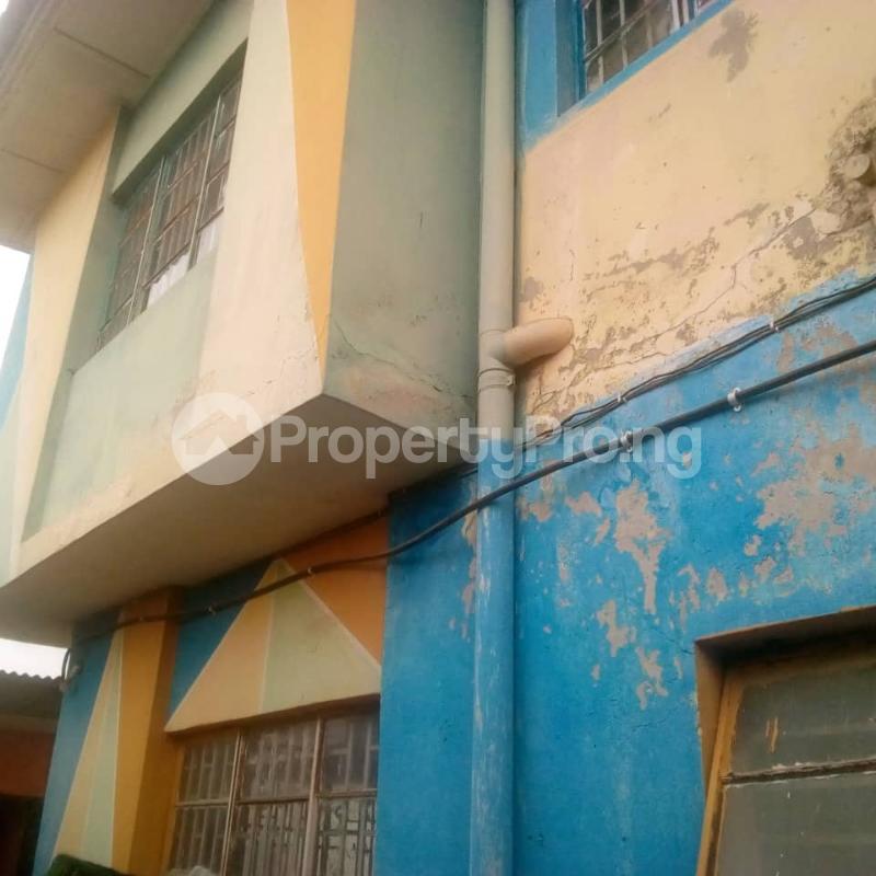 Detached Duplex House for sale Sadiku street,  ogundele Mafoluku Oshodi Lagos - 1