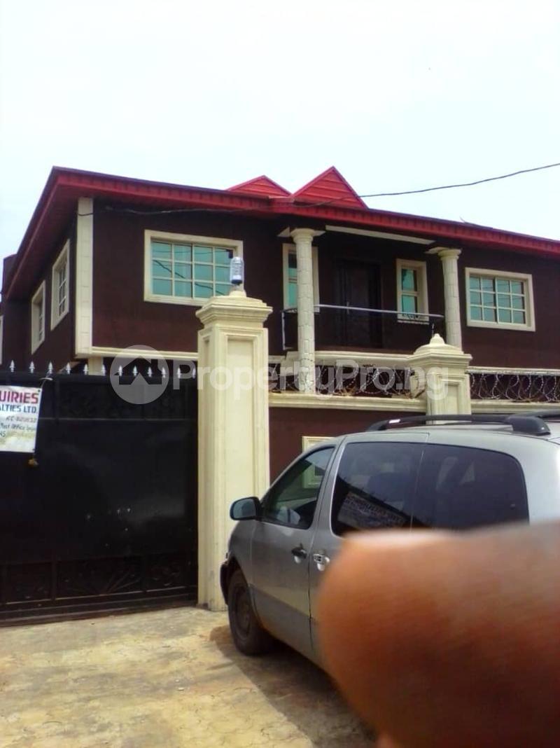 2 bedroom Self Contain Flat / Apartment for rent Ikola Abule Egba Abule Egba Lagos - 1