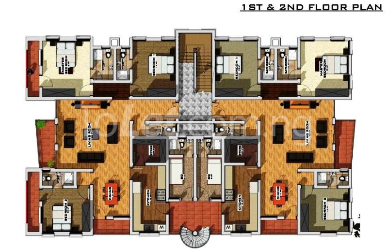 3 bedroom Flat / Apartment for sale Lanre Olumide St Agungi Lekki Lagos - 1