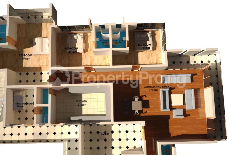 3 bedroom Flat / Apartment for sale off Ligali Ayorinde Victoria Island Extension Victoria Island Lagos - 9