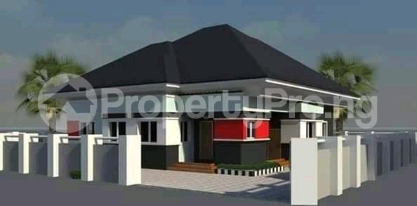3 bedroom Detached Bungalow House for sale Blue Stone Treasure Estate Mowe Obafemi Owode Ogun - 0