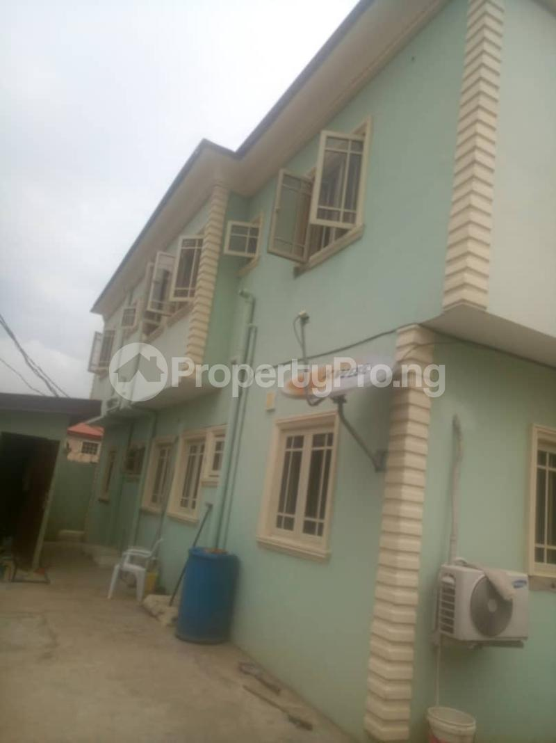 3 bedroom Flat / Apartment for rent shilm1 estate oko oba Agege Lagos - 0
