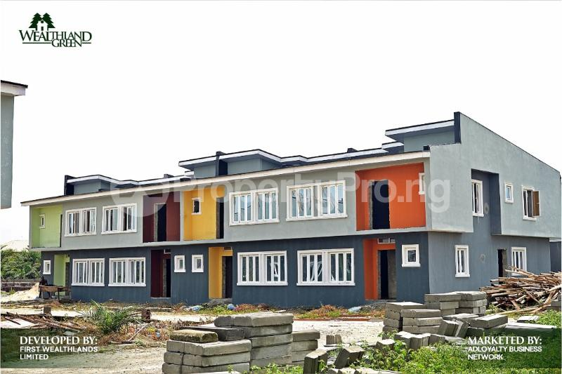 3 bedroom Terraced Duplex House for sale Oribanwa, Lekki Peninsula, Lagos. Off Lekki-Epe Expressway Ajah Lagos - 1
