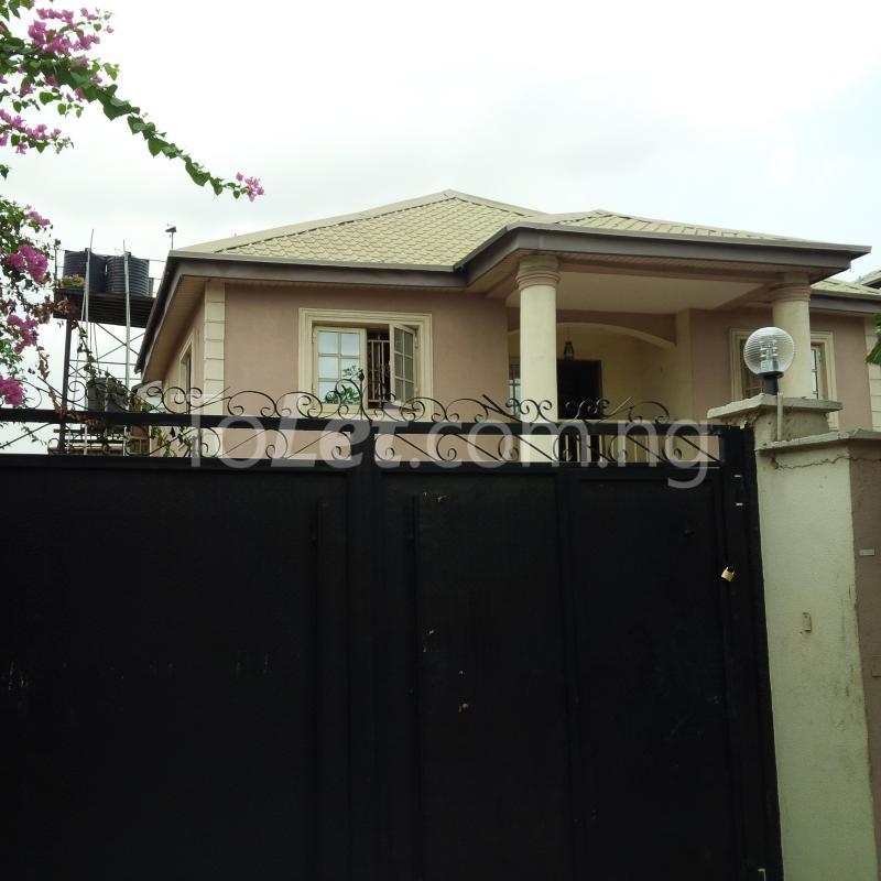 Four Bedroom Houses For Rent: 4 Bedroom House For Rent Via Otedola Estate Alausa Ikeja