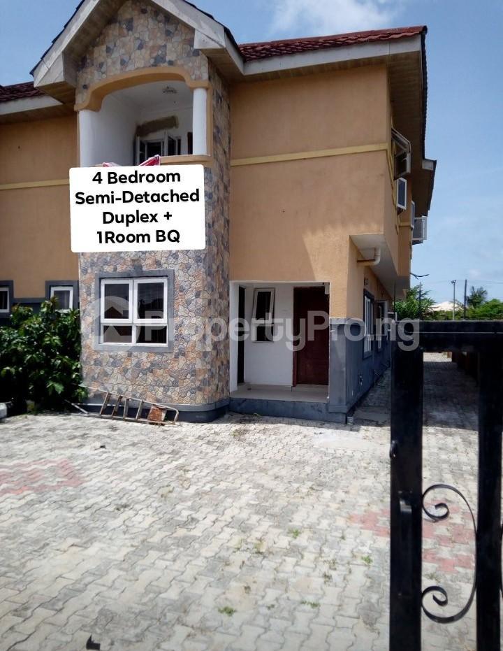 4 bedroom Semi Detached Duplex House for rent Mobil Road, Ilaje Ajah Lagos - 0