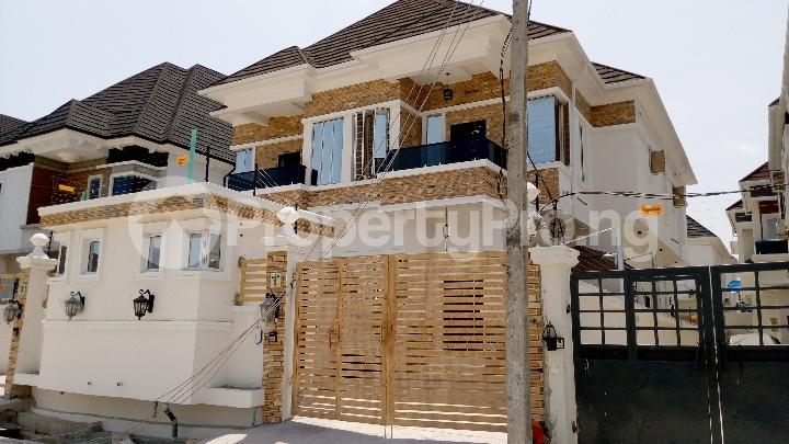 4 bedroom Semi Detached Duplex House for sale Alternative Route chevron Lekki Lagos - 0