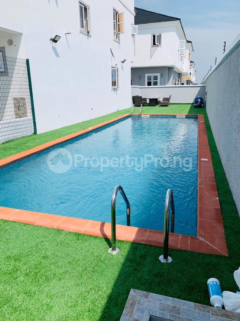 4 bedroom Semi Detached Duplex House for rent chevron Lekki Lagos - 16