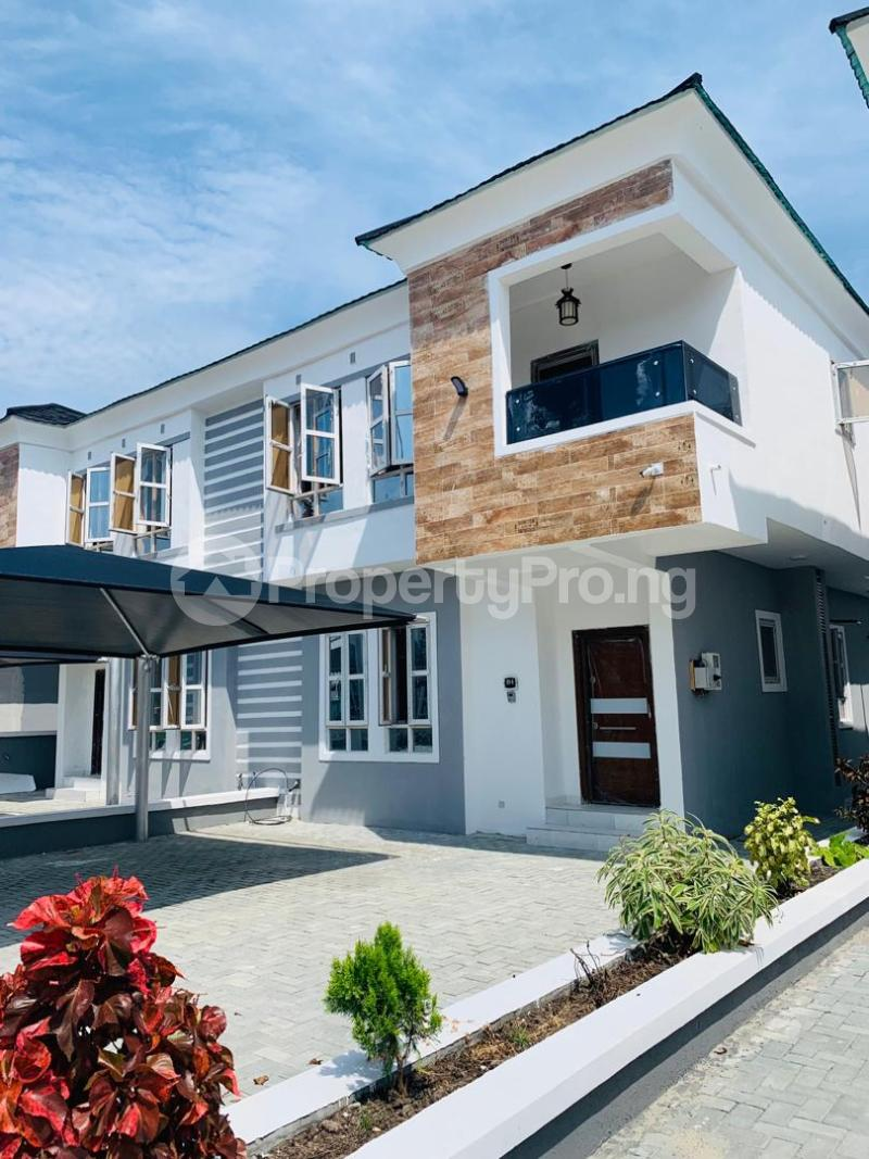 4 bedroom Semi Detached Duplex House for rent chevron Lekki Lagos - 7