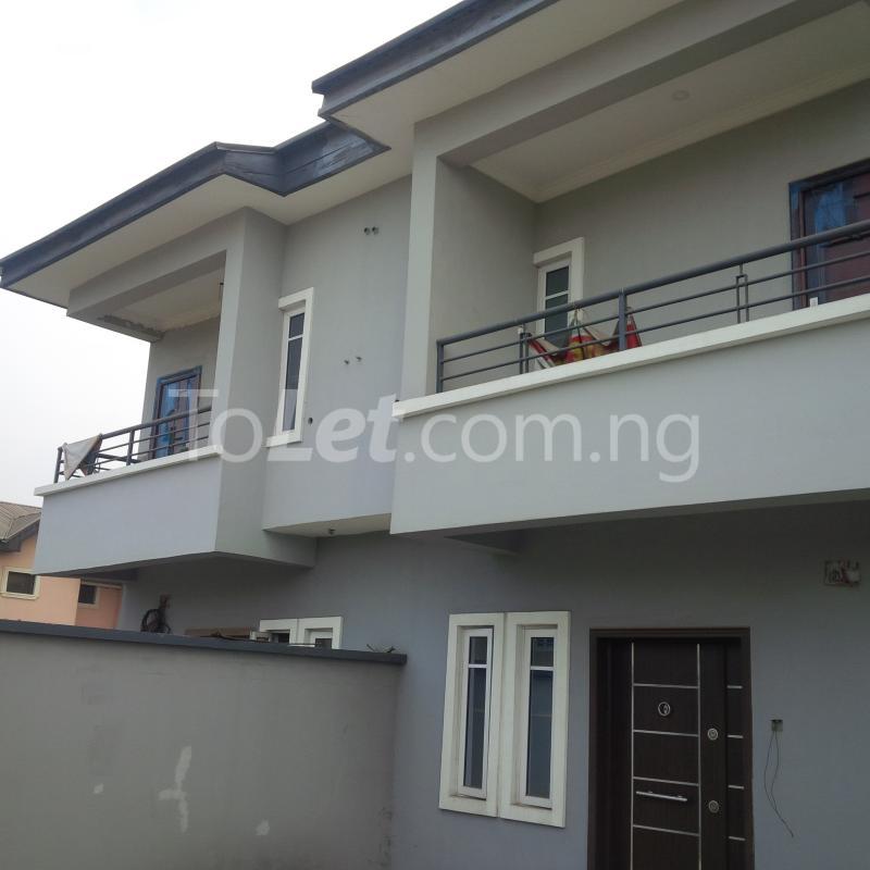 4 bedroom House for sale Private Estate Berger Ojodu Lagos - 1
