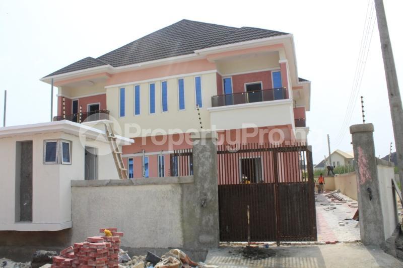 4 bedroom Semi Detached Duplex House for sale . Thomas estate Ajah Lagos - 0