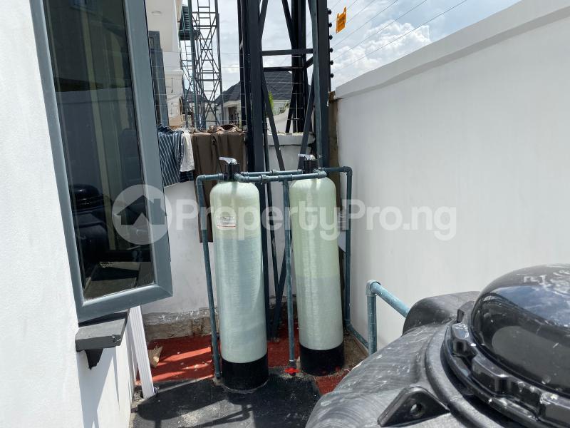 4 bedroom Semi Detached Duplex House for rent Oral Estate Lekki Lagos - 19