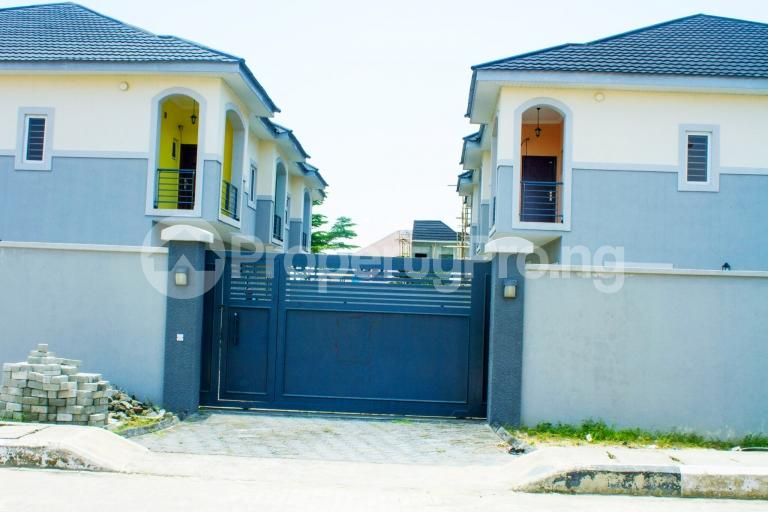 4 bedroom Semi Detached Duplex House for sale Atlantic view estate, off Alpha beach road (popularly known as New road), before  chevron Lekki Lagos - 0
