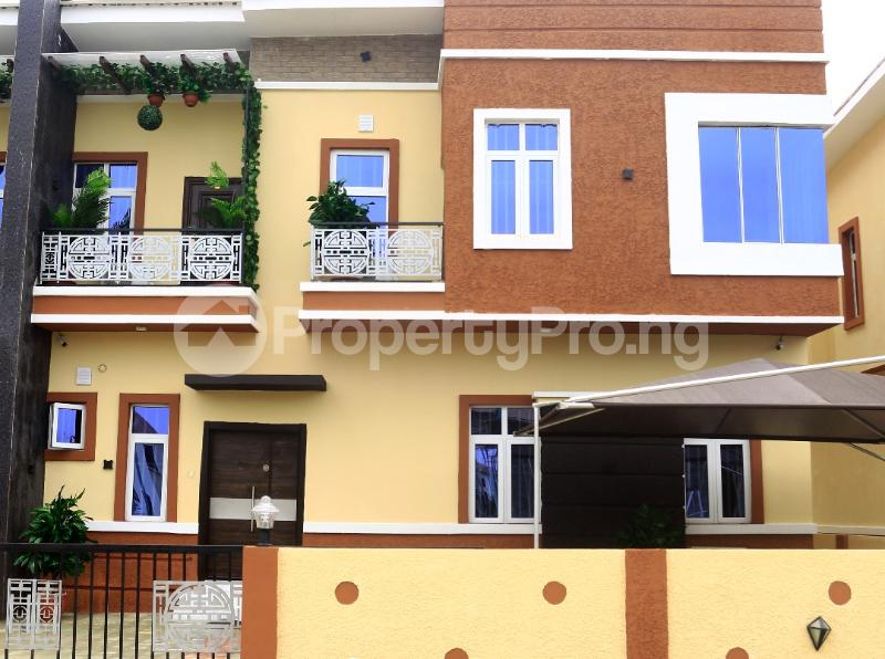 4 bedroom Semi Detached Duplex House for sale Buena vista estate  chevron Lekki Lagos - 4