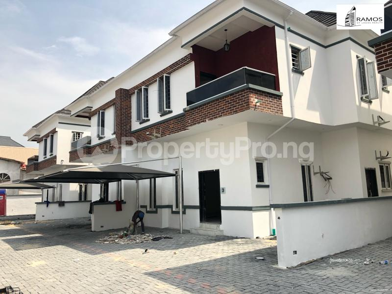 4 bedroom Semi Detached Duplex House for rent Saki Close Osapa london Lekki Lagos - 0