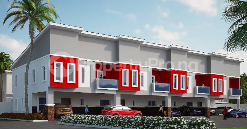 Terraced Duplex House for sale Creek avenue court phase 2 ikota,lekki  Ikota Lekki Lagos - 1