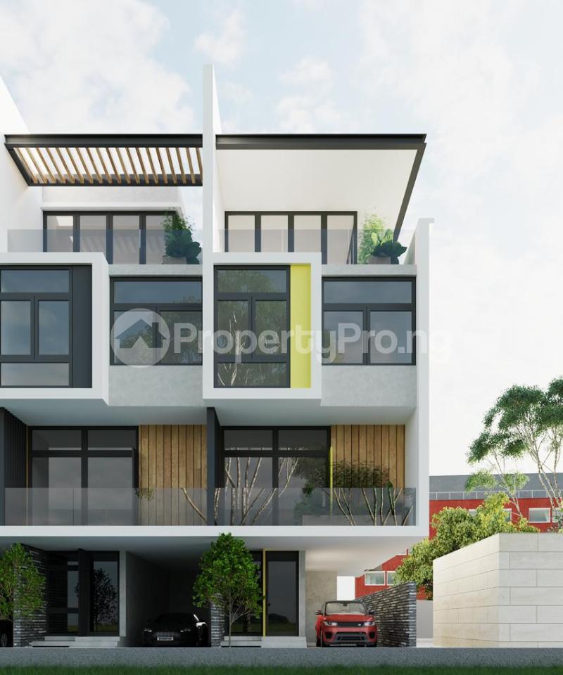 4 bedroom Terraced Duplex House for sale Parkview Estate Ikoyi Lagos - 1