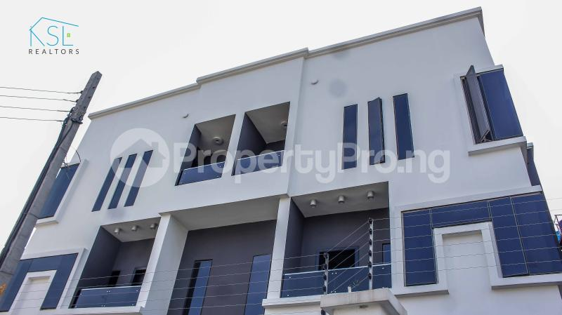 4 bedroom Detached Duplex House for sale close by circle mall; Osapa london Lekki Lagos - 0