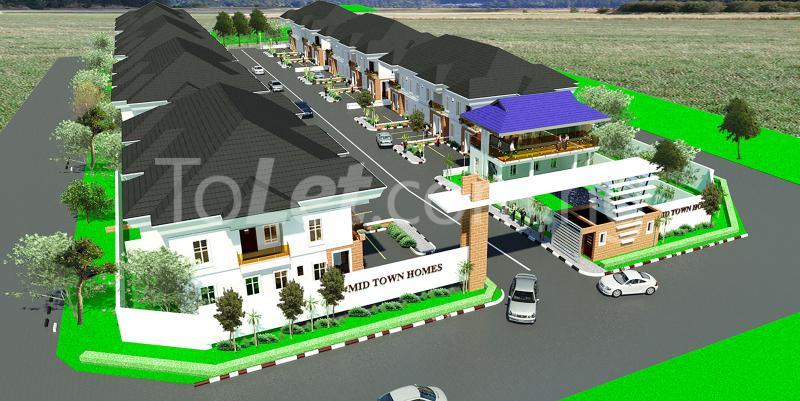 4 bedroom House for sale Before Lagos Business School, By General Paint Ajiwe Ajah Lagos - 0
