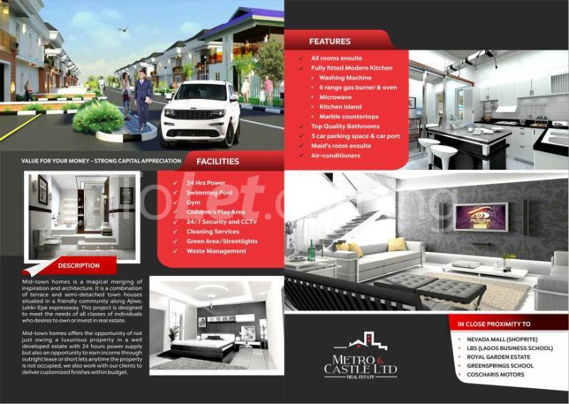 4 bedroom House for sale Before Lagos Business School, By General Paint Ajiwe Ajah Lagos - 5