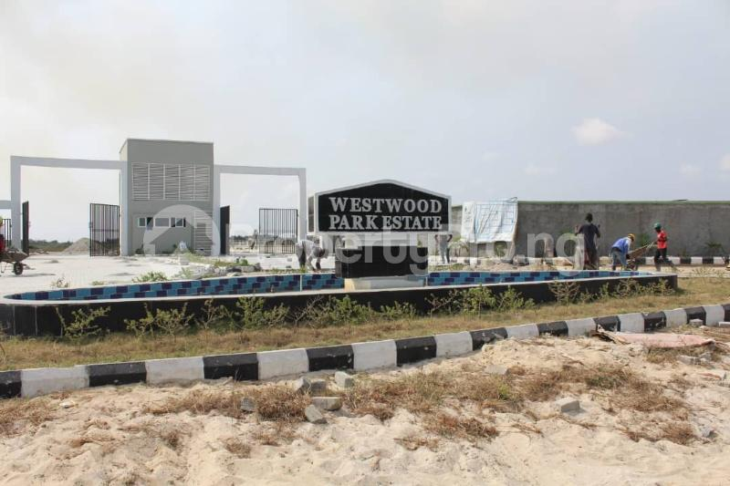 Land for sale West Wood Park Estate Sangotedo Lagos - 20