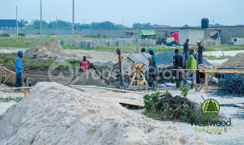 Land for sale West Wood Park Estate Sangotedo Lagos - 8