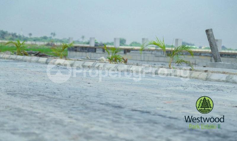 Land for sale West Wood Park Estate Sangotedo Lagos - 9