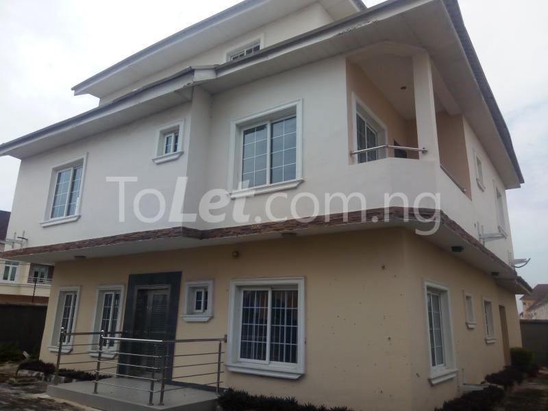 5 bedroom House for rent Carlton Gate Estate chevron Lekki Lagos - 4