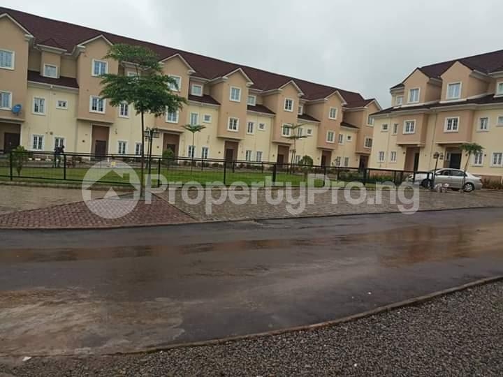 Terraced Duplex House for sale PTECH Estate, close to Life Camp Police Station.  Life Camp Abuja - 0
