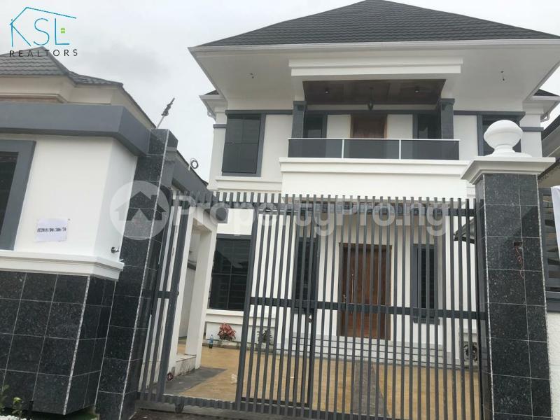 5 bedroom Detached Duplex House for sale Kazeem Eletu way  Osapa london Lekki Lagos - 26