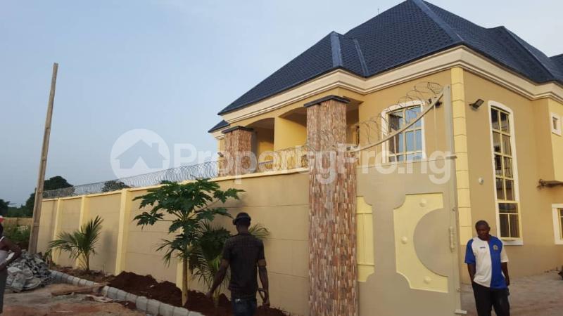 5 bedroom Semi Detached Duplex House for sale Off Orji Junction, Orji old Mbieri Rd  Owerri Imo - 1