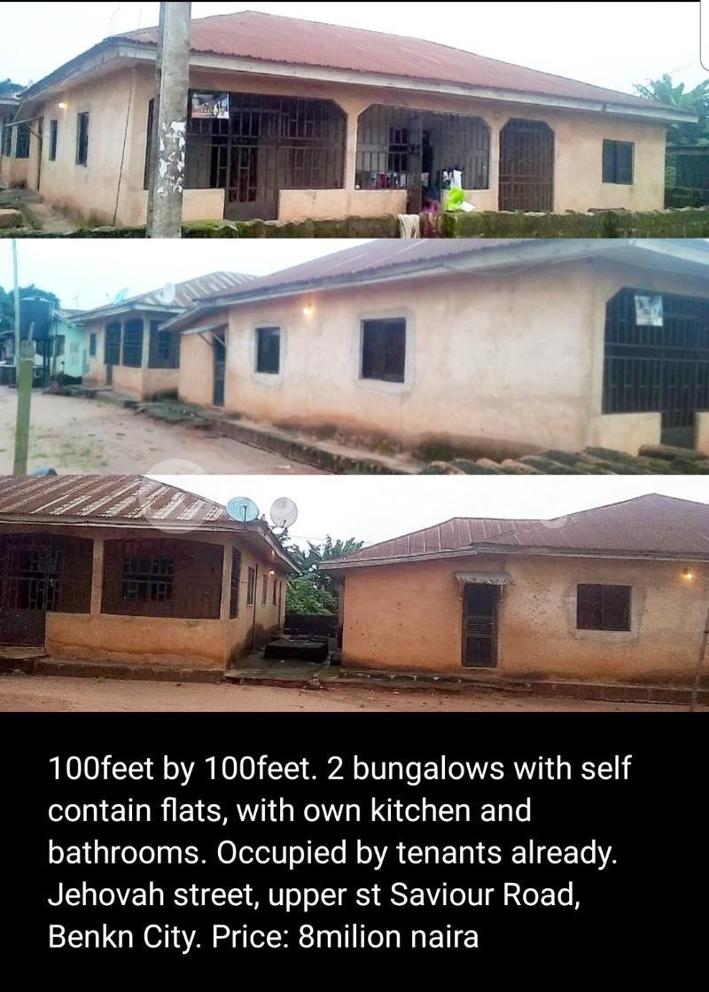 6 bedroom Detached Bungalow House for sale Jehovah Street, off supper St Saviour Road, Benin City  Oredo Edo - 0