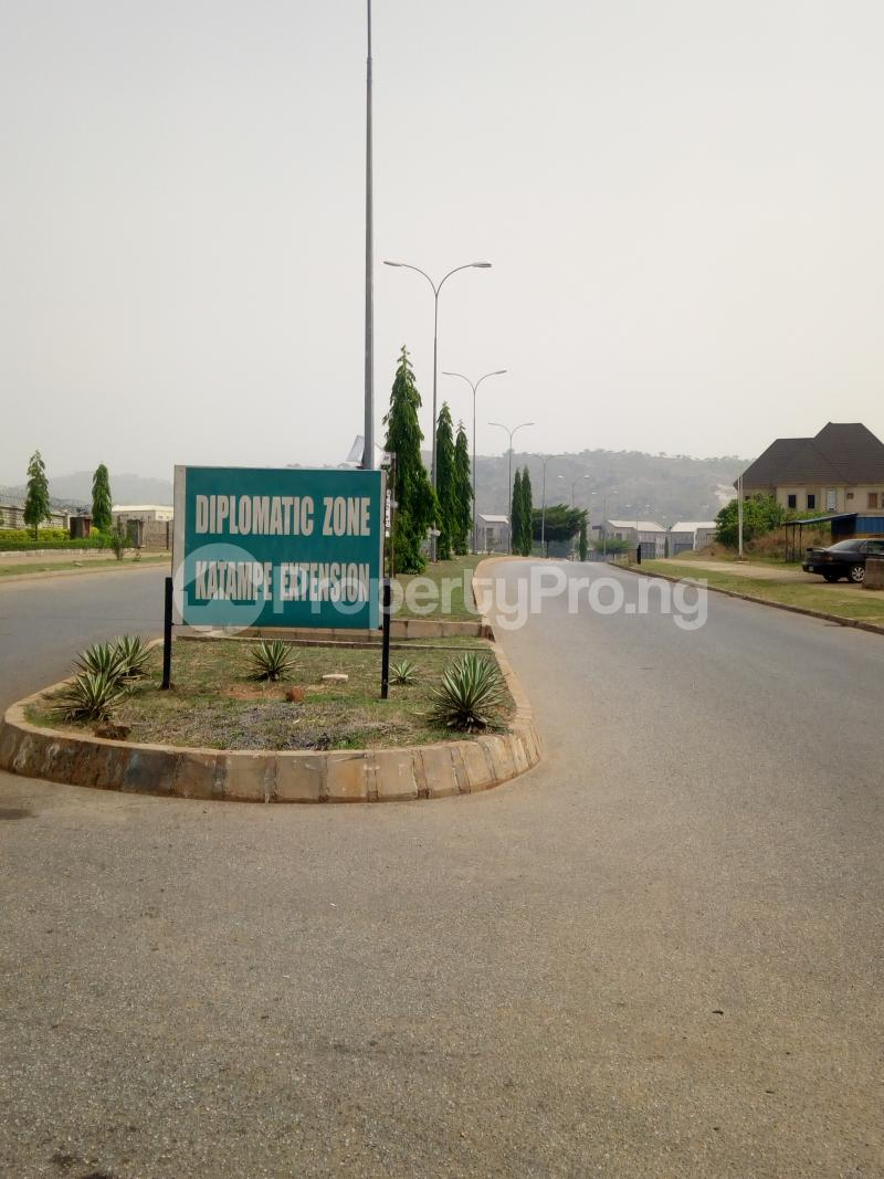 Residential Land Land for sale Diplomatic drive  Katampe Ext Abuja - 0