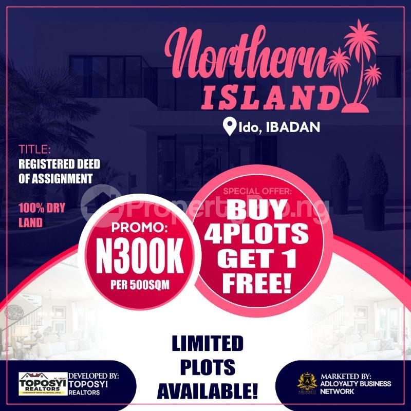 Commercial Land Land for sale Ido ibadan  Ibadan Oyo - 0