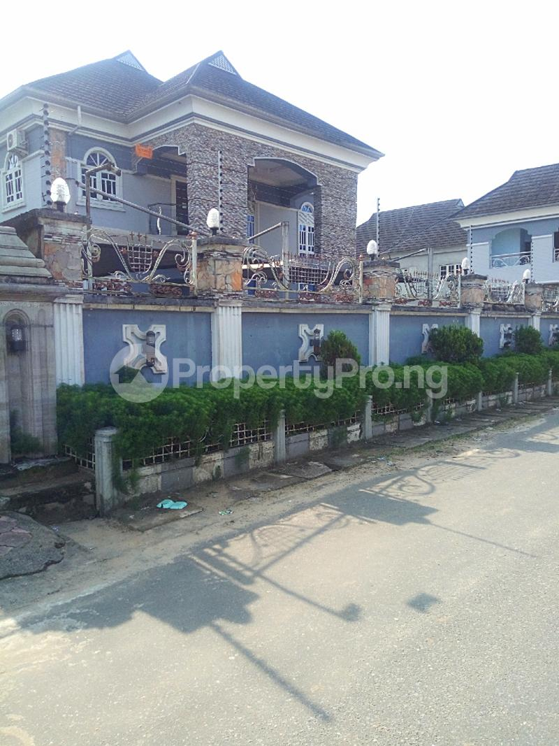 5 bedroom Detached Duplex House for sale New Road Ada George Port Harcourt Rivers - 1