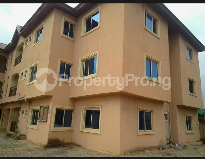 3 bedroom Blocks of Flats House for rent - council Egbe/Idimu Lagos - 0