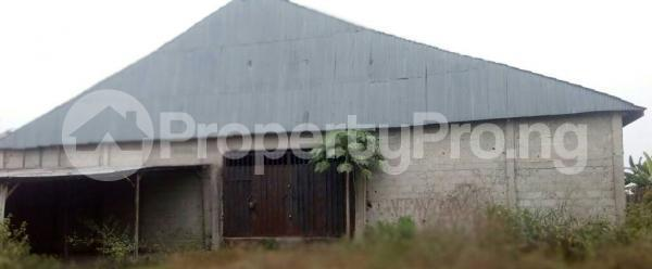 Warehouse Commercial Property for sale Obia-Akpor; Omagwa, Igwurta-Ali Port Harcourt Rivers - 1