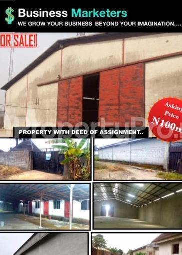 Warehouse Commercial Property for sale Obia-Akpor; Omagwa, Igwurta-Ali Port Harcourt Rivers - 3
