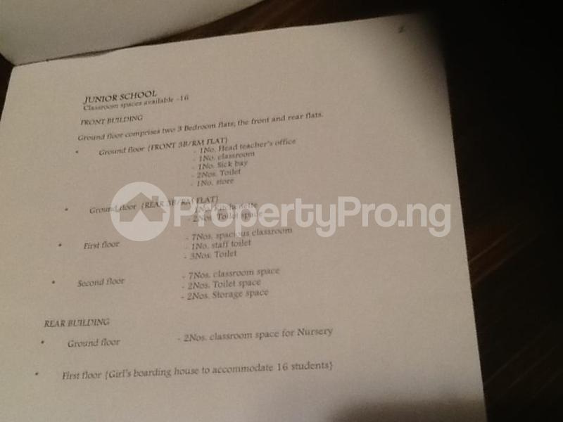 School Commercial Property for sale Ojodu saabo juction Berger Ojodu Lagos - 4