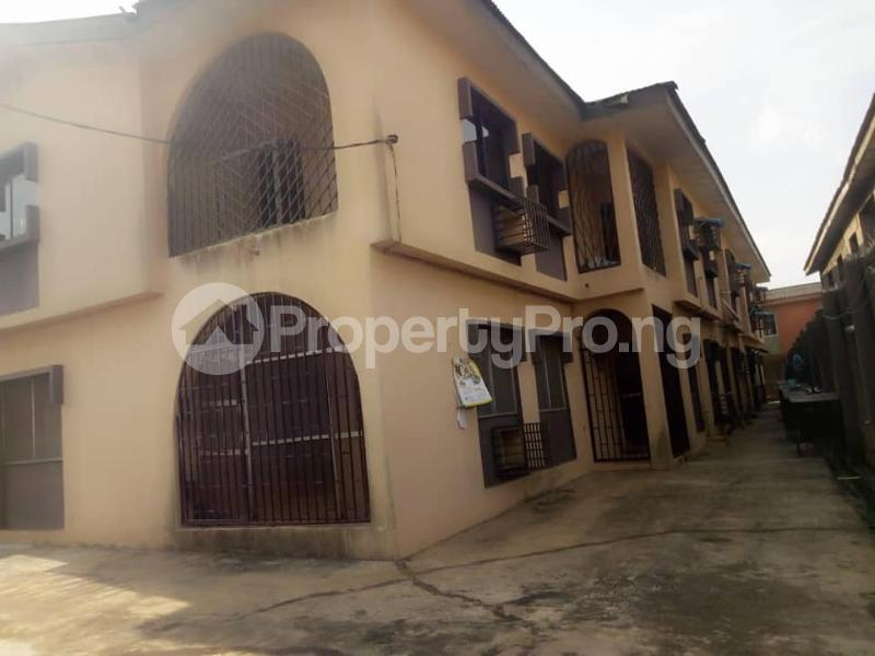 2 bedroom Blocks of Flats House for rent iyana ipaja, pleasure bus stop Abule Egba Lagos - 0
