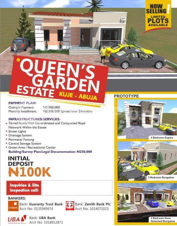 Mixed   Use Land Land for sale KUJE, Abuja Kuje Abuja - 0
