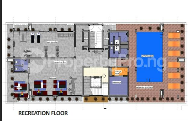 4 bedroom Flat / Apartment for sale Olosa Street, By EKO HOTEL & SUITES Ademola Adetokunbo Victoria Island Lagos - 8