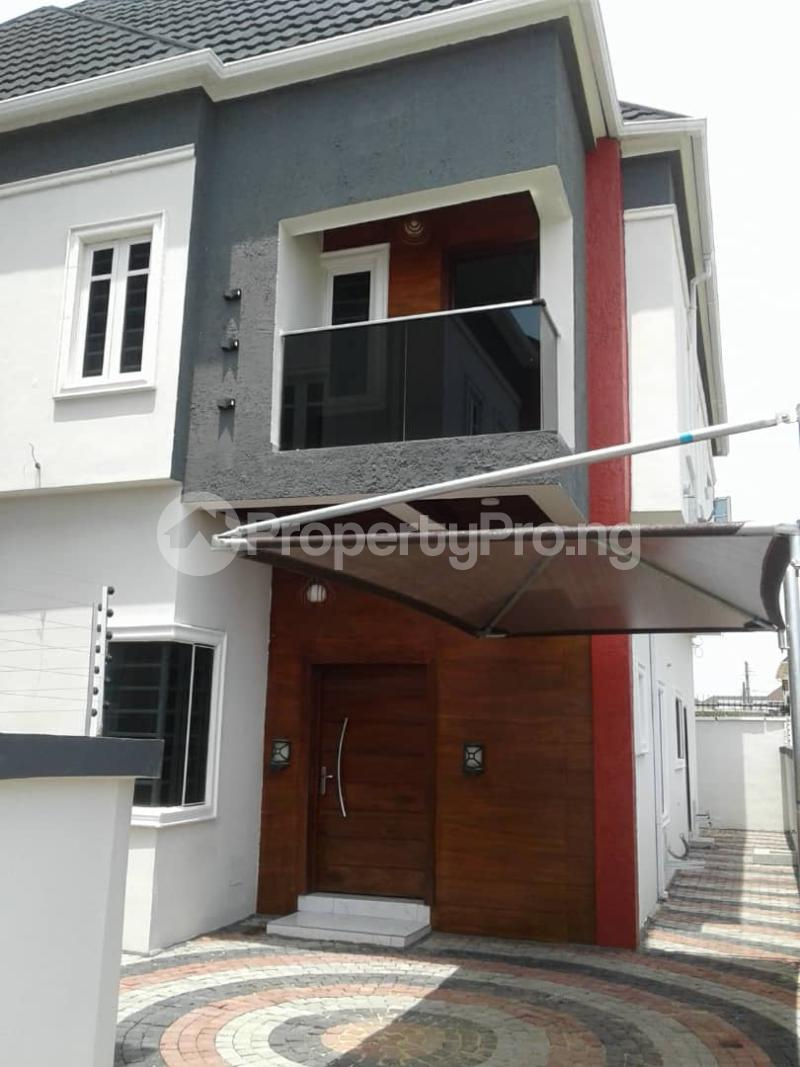4 bedroom Semi Detached Duplex House for sale Chevron Tollgate Oral Estate Lekki Lagos - 0