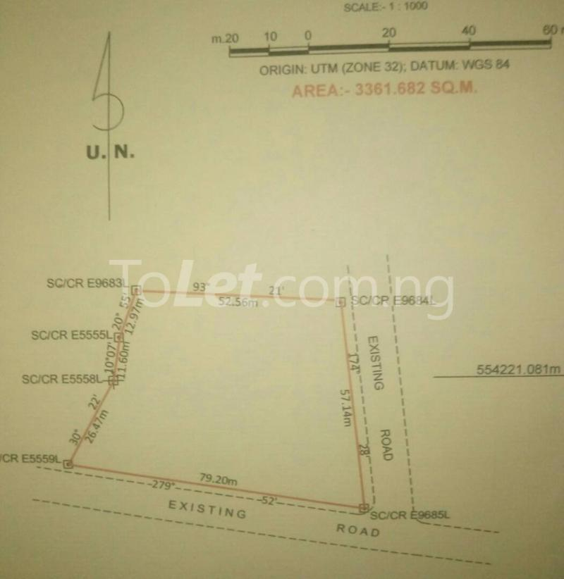 Land for sale Agbor Ntoe Residential Layout Calabar Cross River - 0