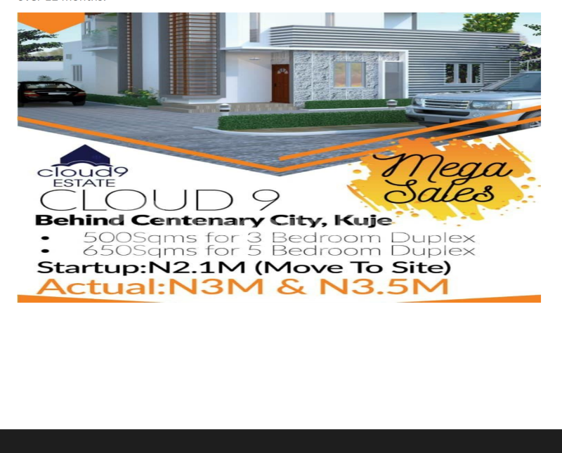 Residential Land Land for sale This Area is about 7 minutes Drive to the Nnamdi Azikwe International Airport Abuja and shares Boundary with International 7 Star Developer called the Centenary  City, Kingdom Home.  Kuje Abuja - 0